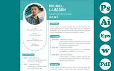 Graphic Designer Resume Template, Graphic Design Resume, Cv Template, Resume Templates, Resume Cv, Type Setting, Lorem Ipsum, Positivity, Names