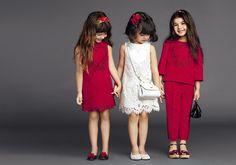 wow, so beautiful! Dolce & Gabbana Children Summer Collection 2015