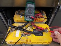 How to Perform Open Voltage Testing on Your RV House Batteries - http://www.doityourselfrv.com/perform-open-voltage-testing-rv-house-batteries/