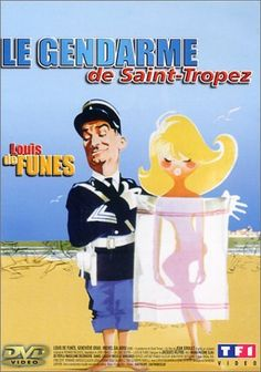 Le gendarme de Saint-Tropez with Louis de Funes