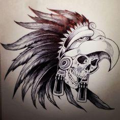 Warrior skull.