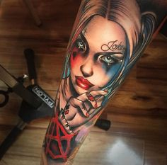harley quinn tattoo15
