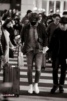 2015: Nam Taehyun WINNER (위너) WWIC Beijing Arrival in Seoul