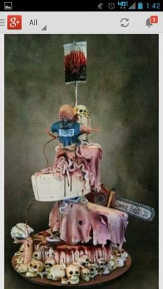 Zombie Cake.