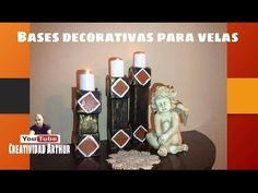 porta #velas/decorativas ,DECORATIVE CANDLE HOLDER - YouTube