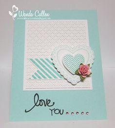 SC422 Hearts a Flutter by cullenwr - Cards and Paper Crafts at Splitcoaststampers