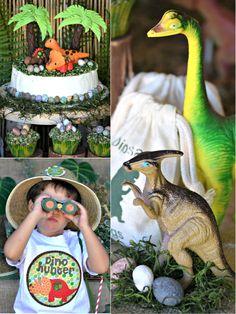 Bird's Party Blog: An AMAZING Dinosaur Adventure Birthday Party!