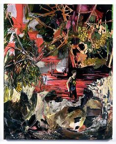 Hernan Bas, Wine River (Fountain of Youth), 2010