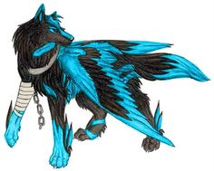 pictures of winged animals wolves and cats | AuroraPack (Elemental Wolves; Sign Ups *High Ranks Needed*)