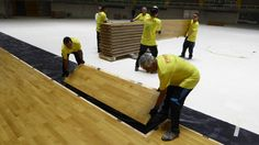Removable sports #flooring easy to install - FIFA #Futsal World Cup 2016 Colombia