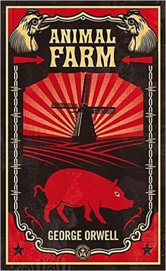 Animal Farm by George Orwell.   In Now @ Canterbury Tales Bookshop / Book exchange / Guesthouse / Cafe, Pattaya....