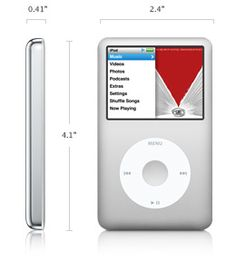 Apple - iPod classic #stillmyfave #80gb