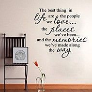 Words Quotes Wall Stickers the Best Thing Art Home Decoration Wall Decal 60 x