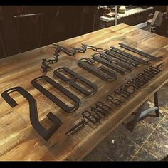Restraunt sign completed!