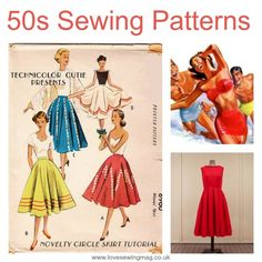 Free 1950s Sewing Patterns