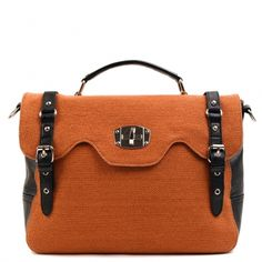 jamie buckle satchel, $55 #satchel #handbag