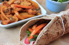 The Kitchen Shed - Clean Eating Mexican Oven Baked Fajitas