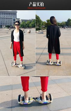 2015 New Arrival Smart balance electric skate board With Two magic Wheels!!