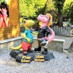 fino-dino-a-dina-mina Tyrannosaurus, Bratislava, Garden Sculpture, Outdoor Decor, Cinema