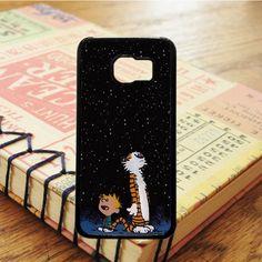 Calvin And Hobbes Cartoon Grown Up Samsung Galaxy S7 Case