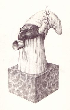 Third of eight images scanned from Serafini's 'Pulcinellopedia'.