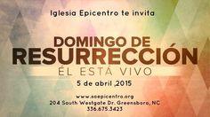 April 5th at Epicentro Churc!
