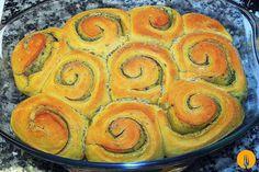 Rollos de ajo caseros. Receta de masas enriquecidas | Recetas de Cocina Casera | Recetas fáciles y sencillas