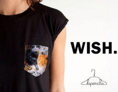 WISH. Camiseta de nuestra nueva marca WISH. Disponible en Lapercha Calle 70 No 10a - 25. Bogotá. De Lunes a Sábado De 11am a 8pm