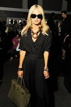 Rachel Zoe is seen around Lincoln Center during Mercedes-Benz Fashion Week on September 11, 2010 in New York City.