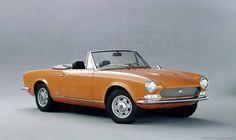 1969 Fiat 124 Sport Spider 1.6   Credit: Centro Storico Fiat
