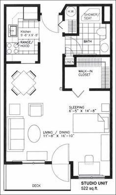 Studio Apartment Architectural Plans small studio apartment floor plans | studio apartment | garage