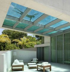 House Design With Glass-Bottom Pool what? glass bottom rooftop pool - Jellyfish House by Wiel Arets Architects (WAA)what? glass bottom rooftop pool - Jellyfish House by Wiel Arets Architects (WAA) Villa Design, Design Hotel, Design Exterior, Interior And Exterior, Room Interior, Interior Ideas, Interior Decorating, Decorating Ideas, Future House