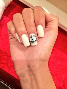 """Mylifeaseva nails - """"Look at this epic manicure I got today! """""""