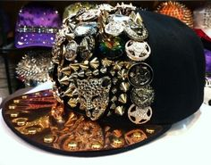 Hip-hop Spikes Spiky Rivets Studded Button Leopard Adjustable Cap Hat  Snapback. Snapback CapHats For MenCaps ... 5de7a0368049