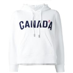 Dsquared2 Canada cropped hoodie