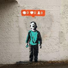 Street Art Banksy, Banksy Graffiti, Banksy Girl, Banksy Artwork, Bansky, Street Art Quotes, Banksy Prints, Banksy Canvas, Artwork Wall