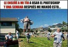 No se le puede dejar solo ... #memes #chistes #chistesmalos #imagenesgraciosas #humor http://www.megamemeces.com/noticias/imagenes-de-chistes/