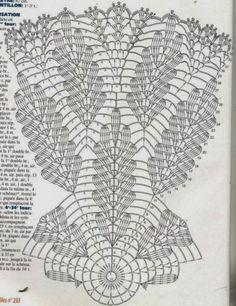Képtalálat a következőre: How to Read pineapple Crochet Chart Patterns Free Crochet Doily Patterns, Crochet Doily Diagram, Crochet Circles, Crochet Mandala, Crochet Round, Crochet Chart, Thread Crochet, Crochet Motif, Crochet Designs