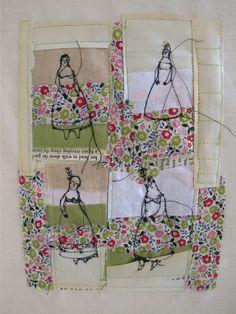 cathy cullis - #fibre #fiber #art #quilt #embroidery #cathycullis