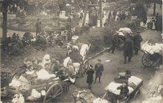 Belgische vluchtelingen in Bergen op Zoom, 1914