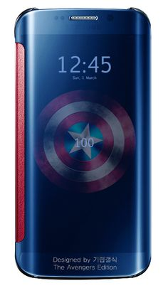 GALAXY S6 EDGE THE AVENGERS EDITION(Not Official)