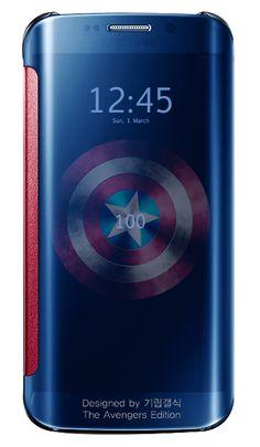 Captain America Active Cover Samsung Galaxy S6 Edge Marvel Edition