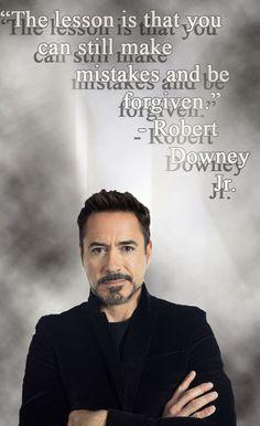 The hard-earned wisdom of Robert Downey Jr.