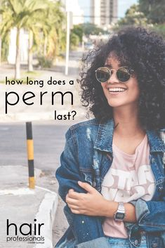 How does a perm work, and how long will it last? It could last longer than you think! Click the pin to find out! Curly Perm, Getting A Perm, Deep Conditioning Treatment, Permed Hairstyles, Split Ends, Grow Out, Blow Dry, Grow Hair, Hair Today