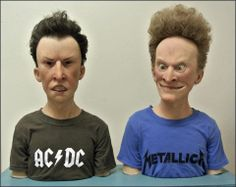 Fatos Desconhecidos  Sempre foi fã de Beavis and Butthead?  Kevin Kirkpatrick, artista de efeitos especiais, colocou a mão na massa e nos mostra como a dupla seria na vida real.  https://www.facebook.com/photo.php?fbid=682983098422056&set=a.451837198203315.104372.451836741536694&type=1&theater