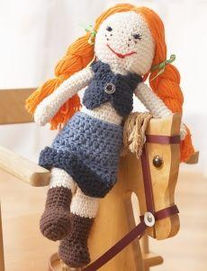 Garden Lily Doll | Yarn | Free Knitting Patterns | Crochet Patterns | Yarnspirations
