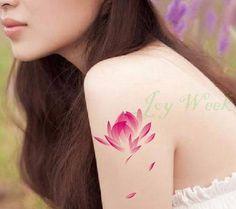 Tattoo Sticker 20 designs flower Waterproof Temporary