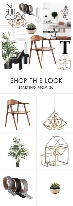 """Different Textures"" by sofiehoff on Polyvore featuring interior, interiors, interior design, home, home decor, interior decorating, Nearly Natural, Arteriors and Normann Copenhagen"