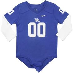 Nike Kentucky Wildcats Infant Jersey Creeper - Royal Blue