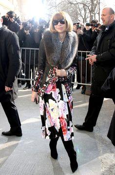 Anna Wintour Photos: Chanel RTW fall/winter 2011